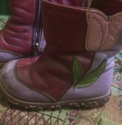 Δερμάτινες φυσικές μπότες 300 r