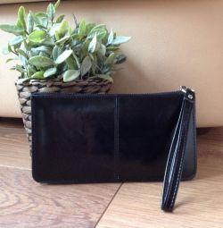 Νέο πορτοφόλι από γνήσιο δέρμα