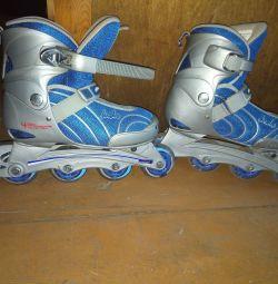 Sliding rollers