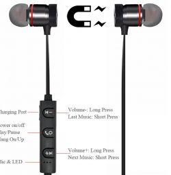 Mıknatıslı Kablosuz Bluetooth Kulaklıklar