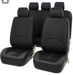 Faux leather autocovers