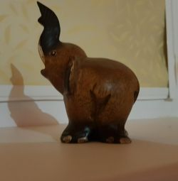 An elephant figurine