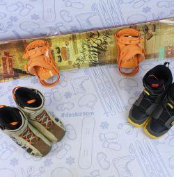 New Atom 157 cm snowboard + new mounts + bot
