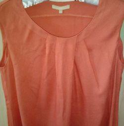Новая блузка туника на 48