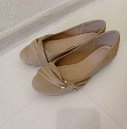 Παπούτσια μπαλέτου σανδάλια νέα σανδάλια