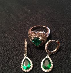 Earring and ring