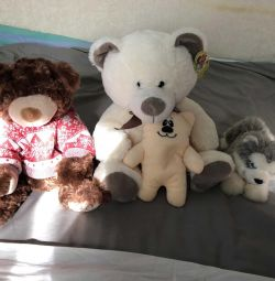Soft toys for sweets
