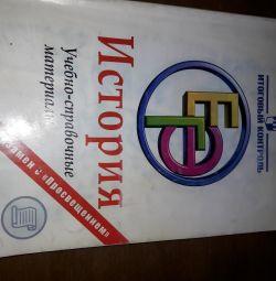 EGE history training materials