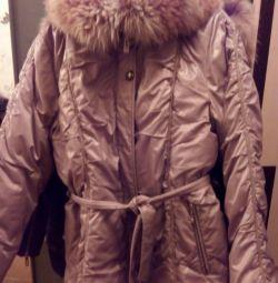 Jacket de iarnă, vulpe