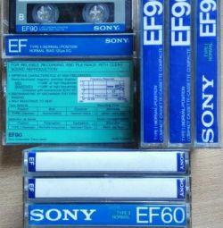 Ses kaseti Sony Süper EF90 EF60 Japonya 1988