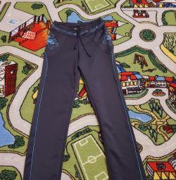 Новые спортивные штаны на девочку