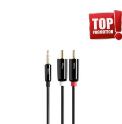 Techlink iWires 3.5mm to 2RCA 1.0m