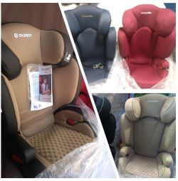 New car seat 15-36 with and without isofix