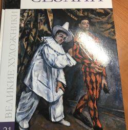 Cartea marilor artiști Cezanne