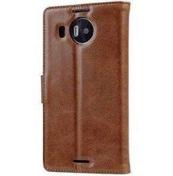 Шкіряний чохол книжка для Lumia 950 xl