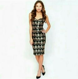 Dress with paillettes