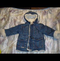 зимова куртка р.110 ф. Глорія Джинс