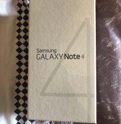 Caseta de telefon Galaxy Nota 4