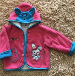 Курточка на девочку 1-1,5 годика