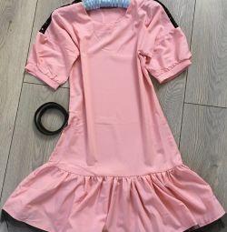 Kemer ile yeni elbise