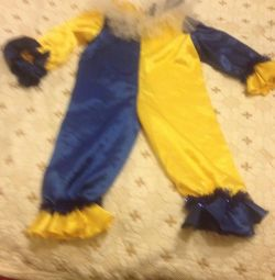 New Year's clown costume