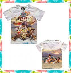Tricou Pui de pirați, Paw Patrol