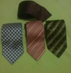 Ties 100% silk for 1 unit