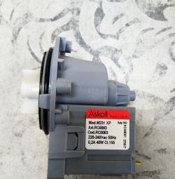 Drain pump (pomp) ASKOLL 40W 3 screw clamps