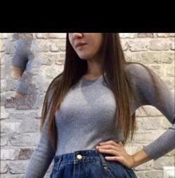 Юбка-шорты джинс