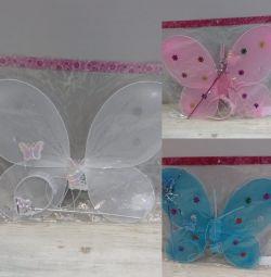 Butterfly fairy wings