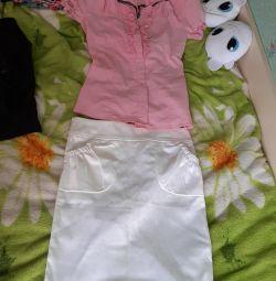 Πουκάμισα και φούστα