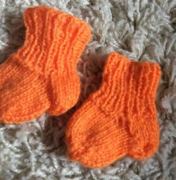 Socks for a premature baby