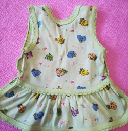 Dresses and sandboxes from 5 months to 2 years