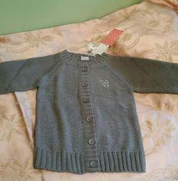 Cardigan tricotat nou