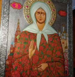 Temple Icon ,, Matrona Moscow ,,
