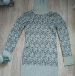 Maternity Winter Knitted Dress