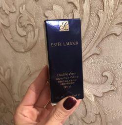 cream powder Double Wear (1W2) Estee Lauder