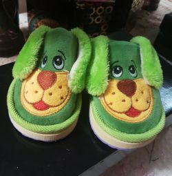 New baby slippers