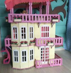 Barbie Giant House