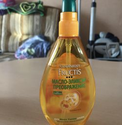 Λάδι για τα μαλλιά Fructis