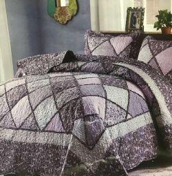 Yeni patchwork yatak örtüsü (patchwork)