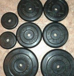 Spor için krep 10 kg