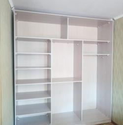 Dulap _ compartiment Oglindă cu trei uși