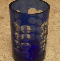 Vase of the USSR Blue