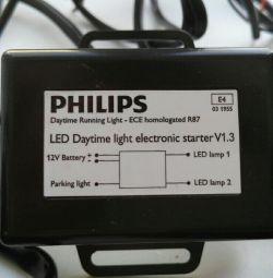 Headlights Philips. Lights.