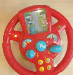 Interactive steering wheel