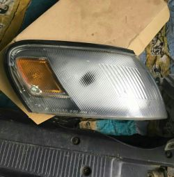 Corolla right swivel headlight