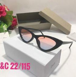 Güneş gözlüğü yeni pembe cam