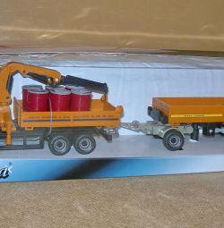 Toy Truck Set Truck με γερανό N-9