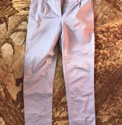 Cropped summer pants (pants)